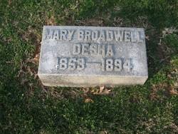Mary Broadwell <i>Broadwell</i> Desha