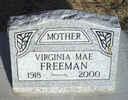 Virginia Mae <i>Rawls</i> Freeman