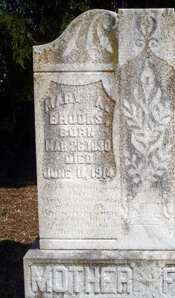 Mary Ann <i>Fannin</i> Brooks