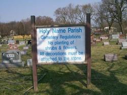 Holy Name Catholic Cemetery
