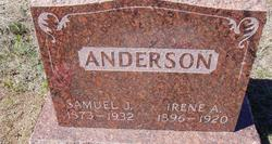 Irene A. <i>Harfst</i> Anderson