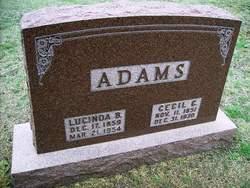 Lucinda B. Adams