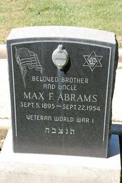 Max F. Abrams
