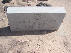 Paul Edward Gallagher