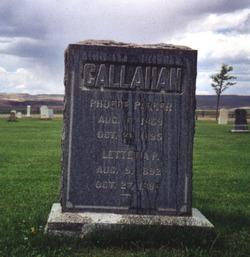 Lettetia Pearl Lettie Callahan