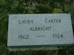 Laura <i>Carter</i> Albright