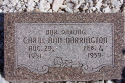 Carol Ann Darrington