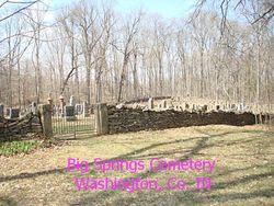 Big Spring Church of Christ Cemetery