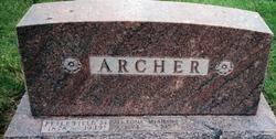 Edna Earle <i>McShan</i> Archer