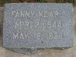 Fanny <i>Martin</i> Kearl