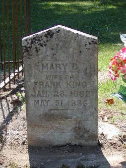 Mary D. Molly <i>Benderman</i> King