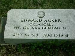 Edward F Acker