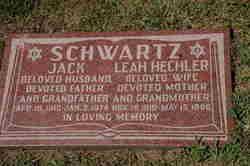 Leah <i>Hechler</i> Schwartz