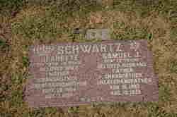 Jeanette <i>Schirding</i> Schwartz