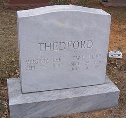 William Luster Bub Thedford