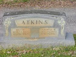Mattie <i>Raper</i> Atkins