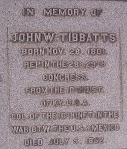 John Wooleston Tibbatts