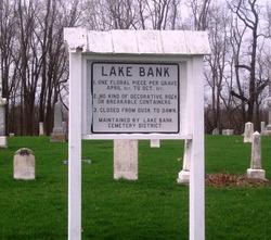 Lake Bank Cemetery