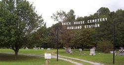 Brick House Cemetery