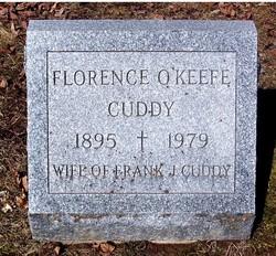 Florence Marie Flossy <i>O'keefe</i> Cuddy