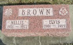Nellie Ellen <i>Clute</i> Brown