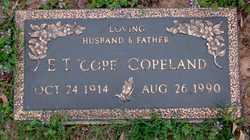 Elecious Theophilous Cope Copeland