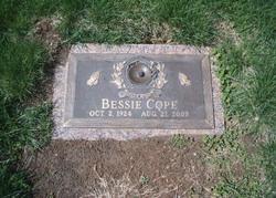 Bessie Earlene <i>Woodward McDuffee</i> Cope
