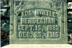Ada Myrtle Benderman