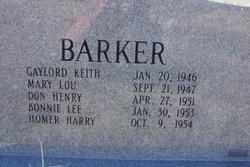 Betty Lou <i>Teal</i> Barker
