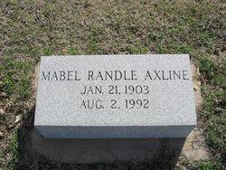 Mabel <i>Randle</i> Axline