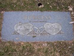 Ruby <i>Dunagan</i> Burgess