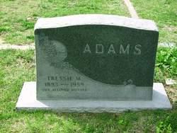 Tressie M. <i>Allen</i> Adams