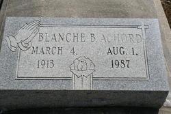 Blanche B. Achord