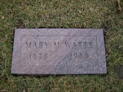Mary Melinda <i>Albright</i> Watts
