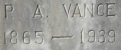 Patrick Albert Vance