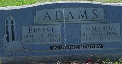 Amanda Caroline <i>Williams</i> Adams