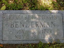 Elizabeth <i>Davis</i> Benderman