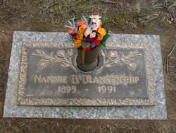 Nannie <i>Benderman</i> Blankenship