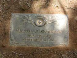Martha G. <i>Coffey</i> Brownlow