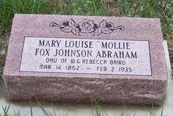 Mary (Mollie) Louise <i>Baird</i> Abraham