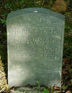 Nellie Jane Clawson