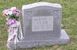 Martha L Clair