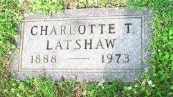 Charlotte Mabel <i>Taylor</i> Latshaw