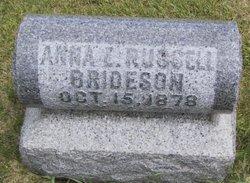Anna L <i>Russell</i> Brideson