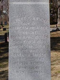 Albert Franklin Knight