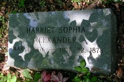Harriet Sophia Alexander