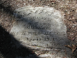 Julia F King