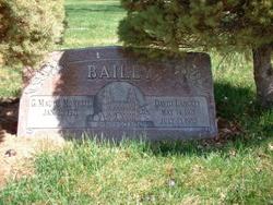 Geneva Maude <i>Morrell</i> Bailey