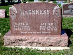 Esther <i>Bishop</i> Harkness