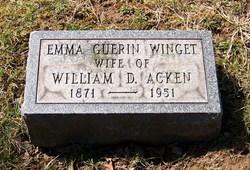 Emma Guerin <i>Winget</i> Acken